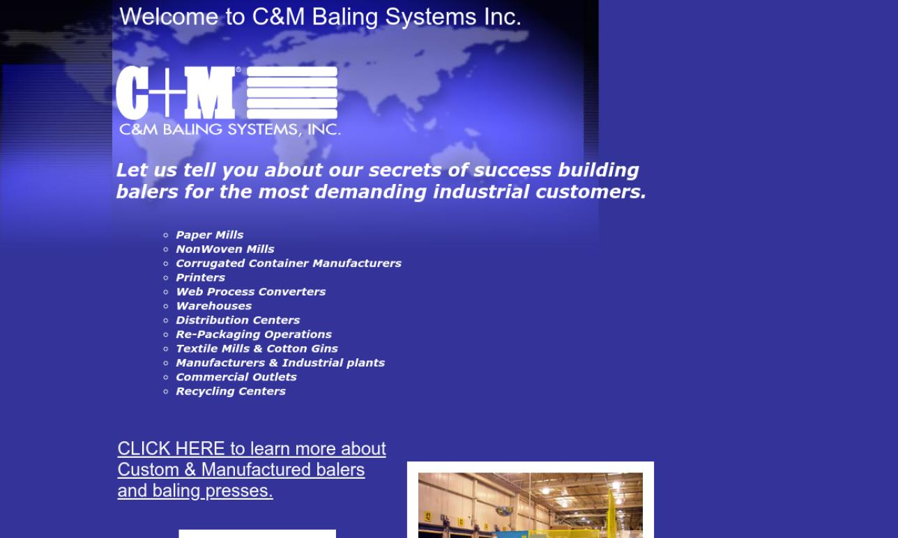 C & M Baling Systems Inc.