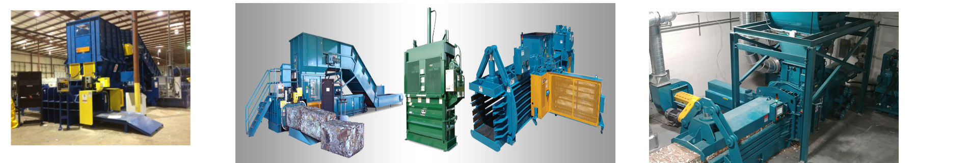 Recycling Equipment Manufacturers banner